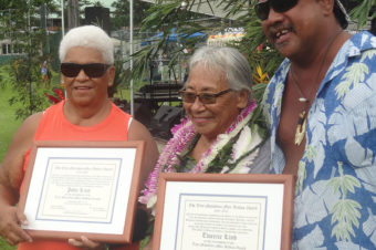 Linds receive Malaikini public service award